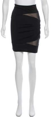 Alexander Wang Ruched Mini Skirt