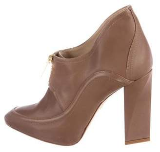 Maiyet Leather Pointed-Toe Booties
