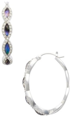 Women's Judith Jack Tropical Touches Hoop Earrings $125 thestylecure.com