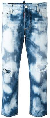 DSQUARED2 Tomboy bleached jeans