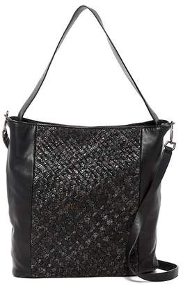 Liebeskind Berlin Tadisa Leather Woven Snake Embossed Tote