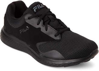 Fila Black Layers 2.5 Knit Running Sneakers