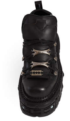 New Rock Tank Sole Low Boots