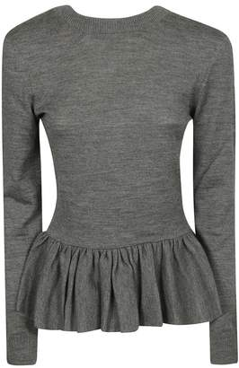 Chloé Peplum Knit Top
