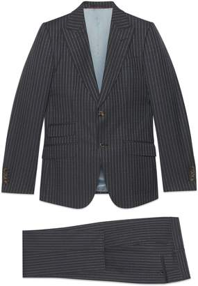 Gucci Heritage pinstripe suit
