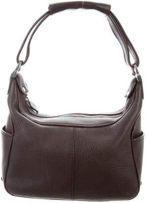 Tod's Leather Shoulder Bag Brown Leather Shoulder Bag