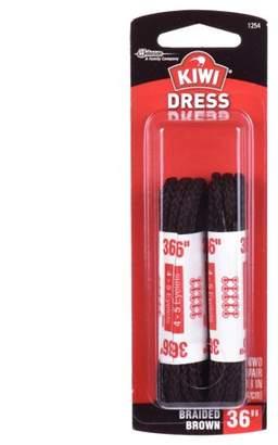 "Kiwi Dress Round Laces Brown 36"" 2 pairs"