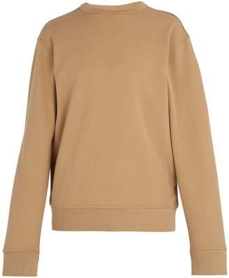 Maison Margiela Elbow patch cotton sweatshirt