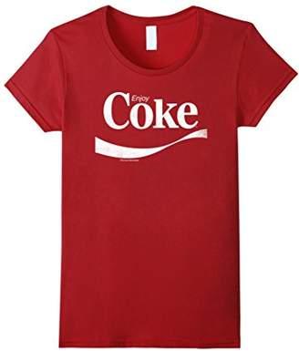 Coca-Cola Vintage Enjoy Coke White Logo Graphic T-Shirt