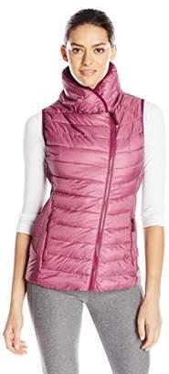 Champion Women's Puffer Asymmetric Vest $49.99 thestylecure.com