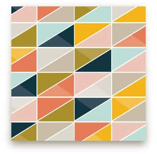 Triangle Picnic Fabric