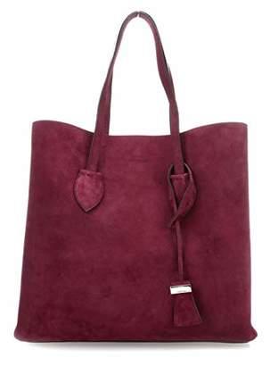 Coccinelle Celene Suede E1 Ch6 11 01 01, Women's Shoulder Bag,12x33x35 cm (B x H T)