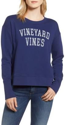 Vineyard Vines Crewneck Cotton Blend Sweatshirt