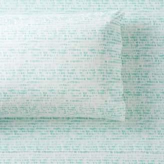 Pottery Barn Teen Droplet Organic Sheet Set, Extra Pillowcases, Set of 2, Pale Seafoam