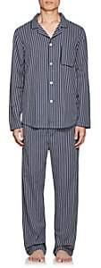 Derek Rose Men's Royal Cotton Pajama Set - Navy