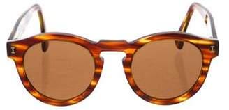 Illesteva Round Tortoise Sunglasses
