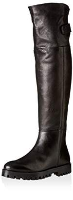 Manas Design Women's Berlino Over The Knee Leather Boot