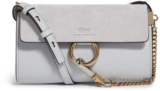 Chloé Mini Leather Faye Shoulder Bag