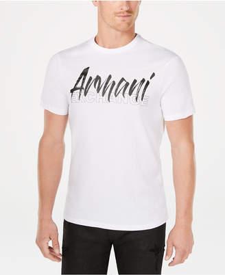 Armani Exchange Men Logo Print T-Shirt