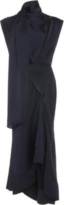 Acler Dalisay Draped Midi Dress
