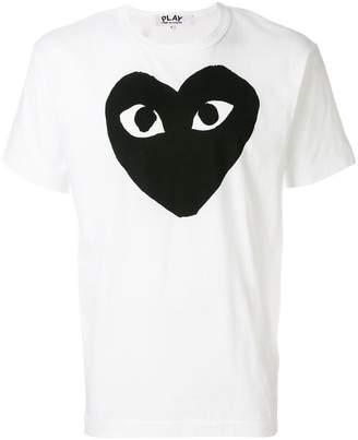 Comme des Garcons heart motif T-shirt