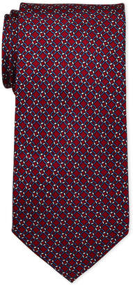 Pierre Cardin Link Print Silk Tie
