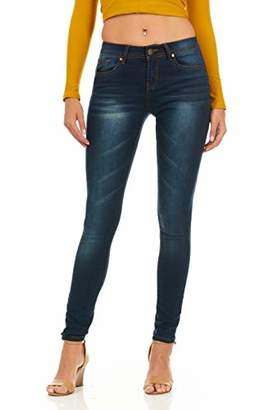 Cover Girl Women's Mid Rise Jeans Skinny Plus or Juniors Ankle Plus Size 16W