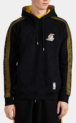 Marcelo Burlon County of Milan Men's Los Angeles LakersTM Cotton French Terry Hoodie - Black