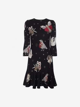 Alexander McQueen Gothic Fairytale Mini Dress