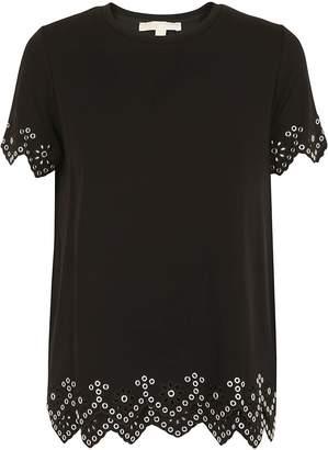 Michael Kors Eyelet Hem T-shirt
