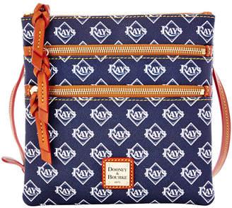 Dooney & Bourke Tampa Bay Rays Triple Zip Crossbody Bag