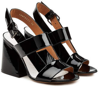 Maison Margiela Patent Leather Sandals
