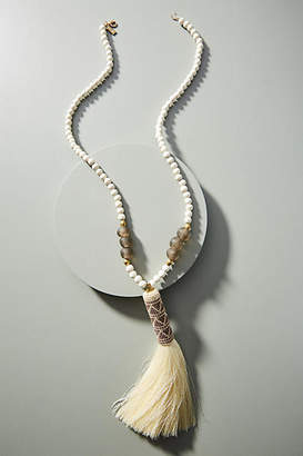 Ink + Alloy Naomi Tasseled Pendant Necklace