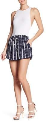 Angie Printed Drawstring Shorts