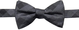 Ryan Seacrest Distinction Men's Warwick Gingham Pre-Tied Silk Bow Tie, Created for Macy's