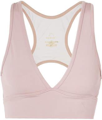 Varley Brooks Cutout Stretch Sports Bra - Pastel pink