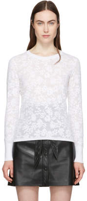 Rag & Bone White Perry Long Sleeve T-Shirt