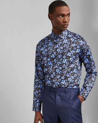 Ted Baker TAGLI Floral print cotton shirt