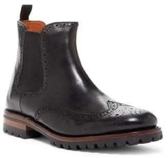 Frye George Lug Brogue Chelsea Boot