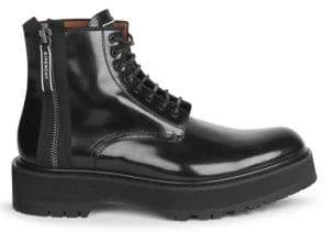 Givenchy Camden Leather Utility Boots