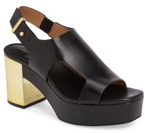 Women's Calvin Klein Iven Platform Sandal $129.47 thestylecure.com