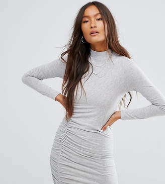 Noisy May Ruched Bodycon Dress