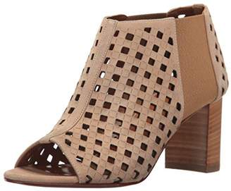 Aquatalia Women's Shari Perforated Suede Ankle Bootie