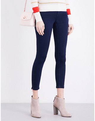 Ted Baker Super skinny zipped-detail jeans