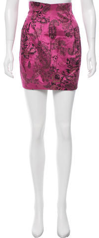 3.1 Phillip Lim 3.1 Phillip Lim Printed Mini Skirt
