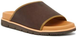 Donald J Pliner Leather Slide Sandal