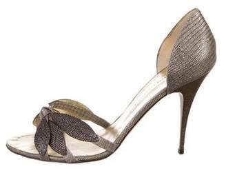 Giuseppe Zanotti Leather Toe-Strap Sandals
