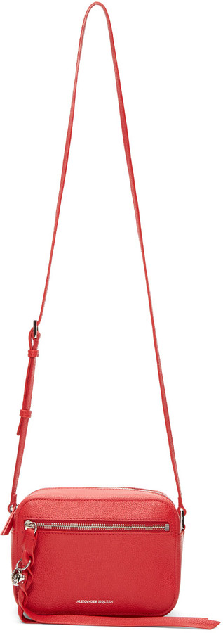 Alexander McQueen Alexander McQueen Red Small Camera Bag