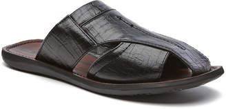 Cubavera Closed Toe Slide Sandal