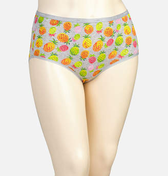 Avenue Pineapple Mix Cotton Full Brief Panty